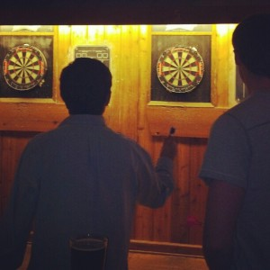 Darts at Blueberry Hill
